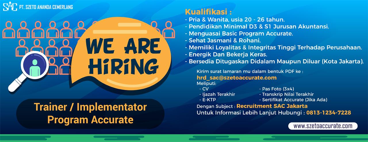 Job Vacancy Jakarta