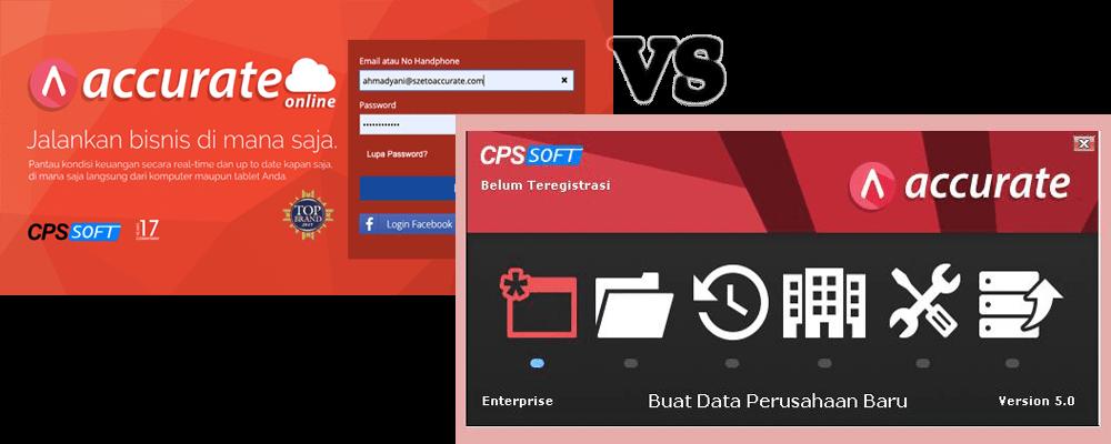 Perbedaan Software Akuntansi Desktop dan Online