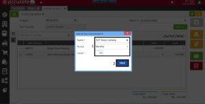 Pencatatan Prepaid di Accurate Online 6