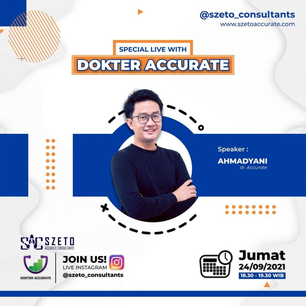 Live Instagram With Dokter Accurate